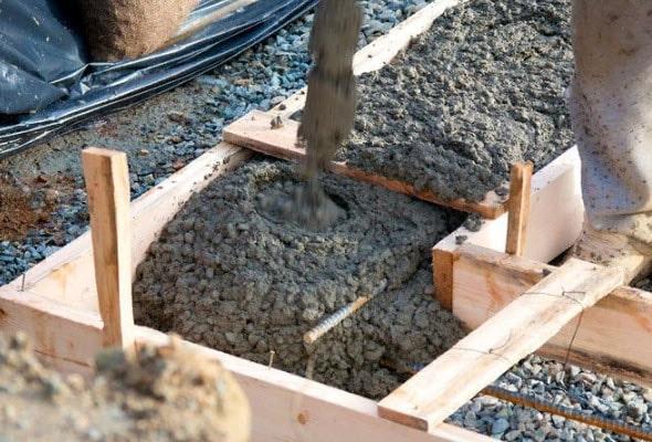 когда твердеет бетон