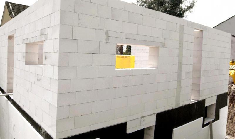 стены пол и перекрытие из газобетона