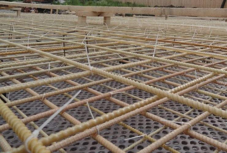 технология укладки каркаса из композитной арматуры