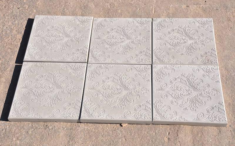 тротуарная плитка квадратная