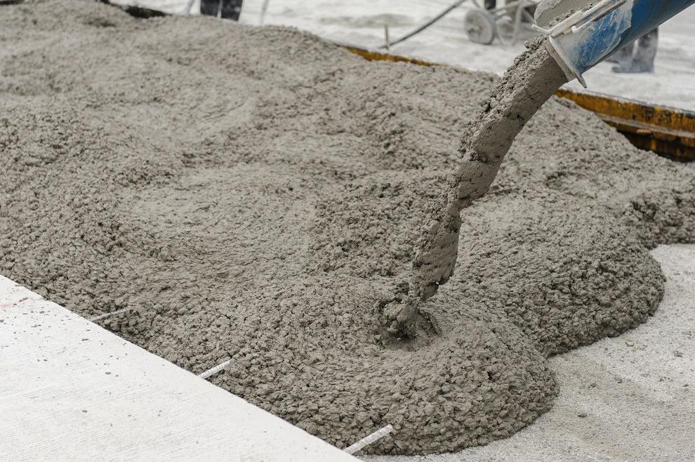 тяжелый бетон марки состав