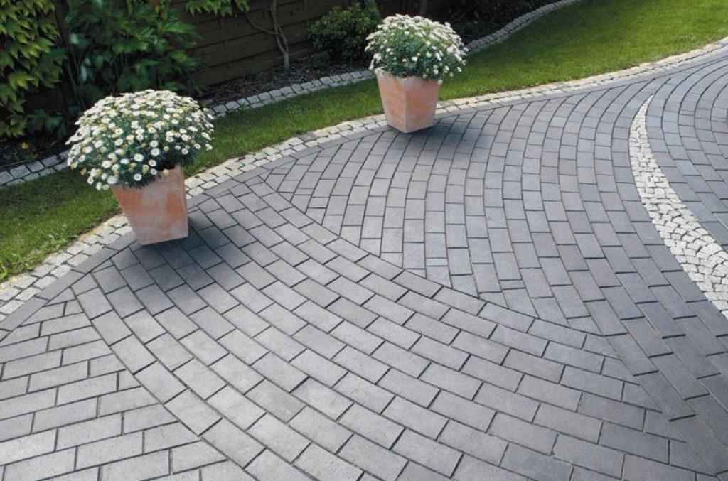 виды тротуарной плитки брусчатки