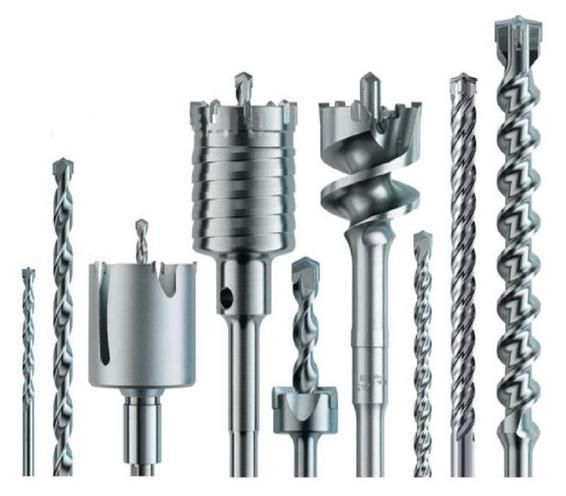 выбор коронок для сверления бетона перфоратором