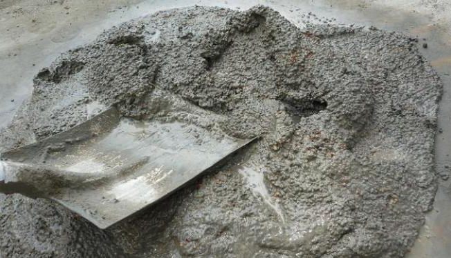 замес теплого бетона