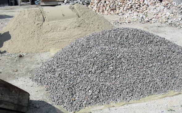 заполнители для приготовления бетона