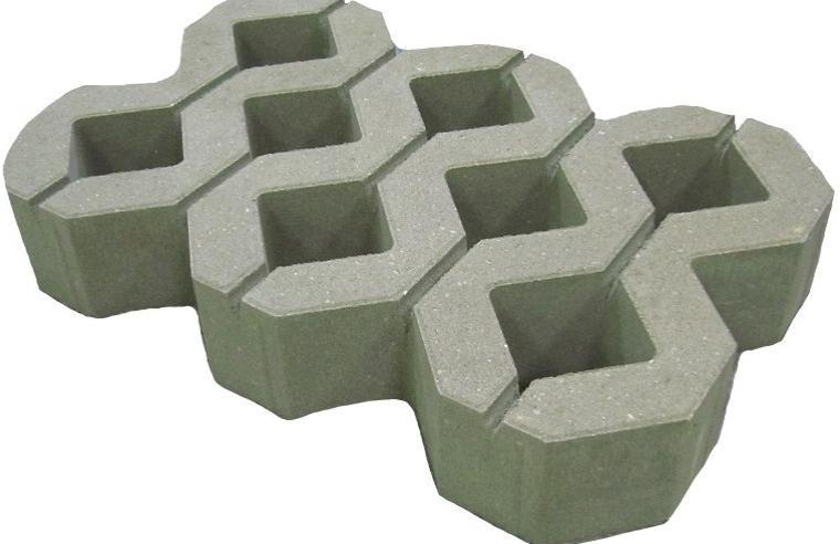 бетонная газонная решетка для парковки