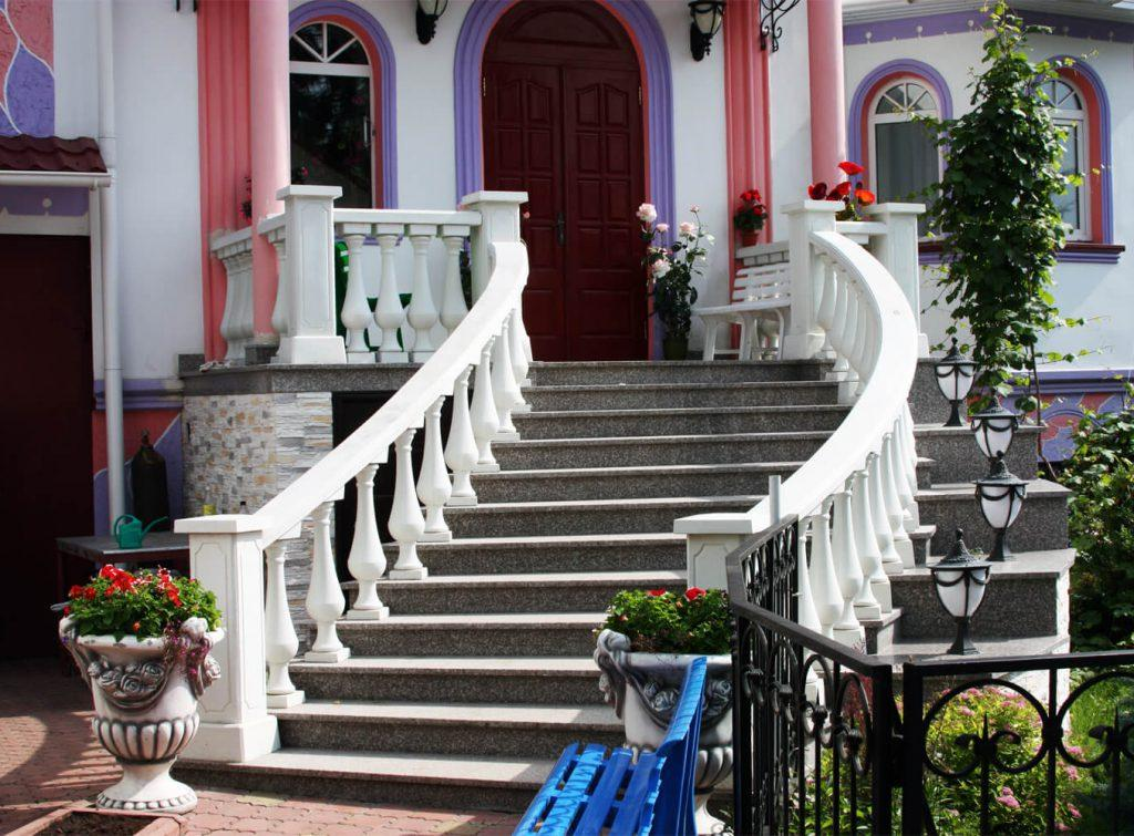бетонные балясины для лестниц