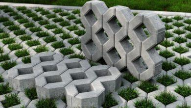 для чего нужна бетонная газонная решетка