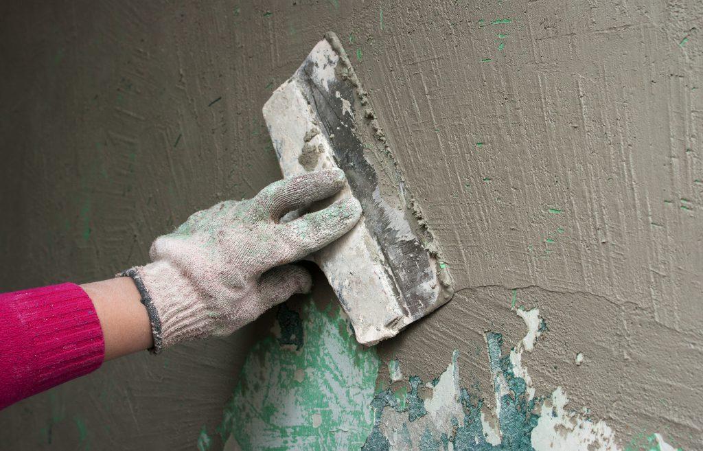 использование песчано-цементной смеси