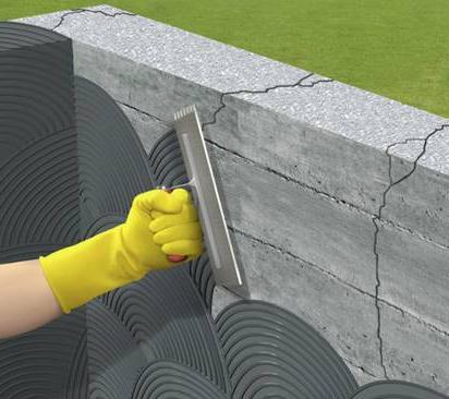как наносится и выполняется гидроизоляция на базе цемента