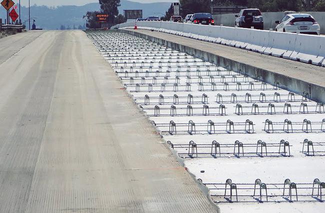как уложить бетонную дорогу