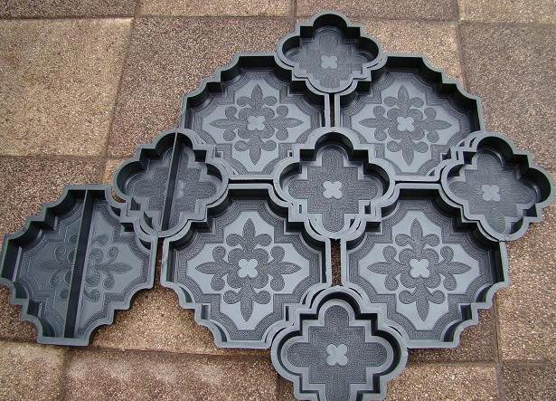 оригинальные формы для тротуарной плитки