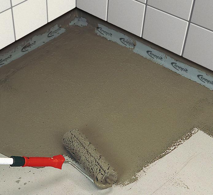 особенности работы с цементной гидроизоляцией