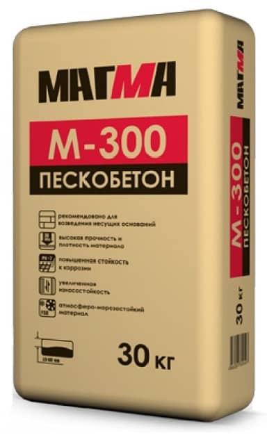 пескобетон м300 песчано-цементная смесбь