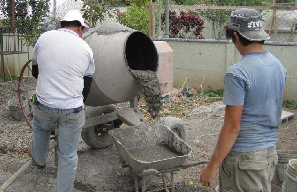 приготовление раствора из цемента м500