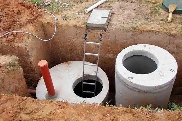 септик из бетонных колец как сделать самостоятельно