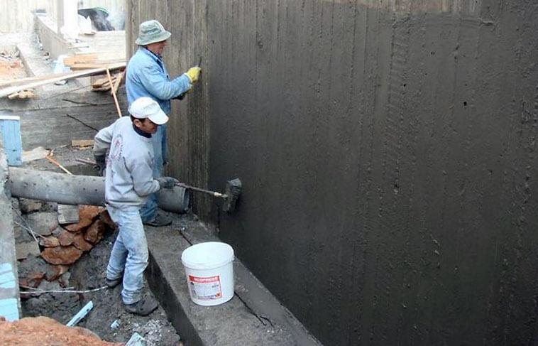 технология нанесения цементной гидроизоляции