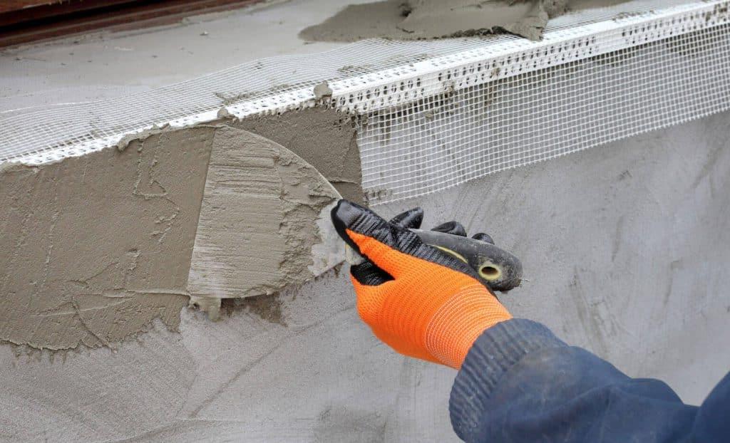 цементно-песчаная смесь для штукатурки