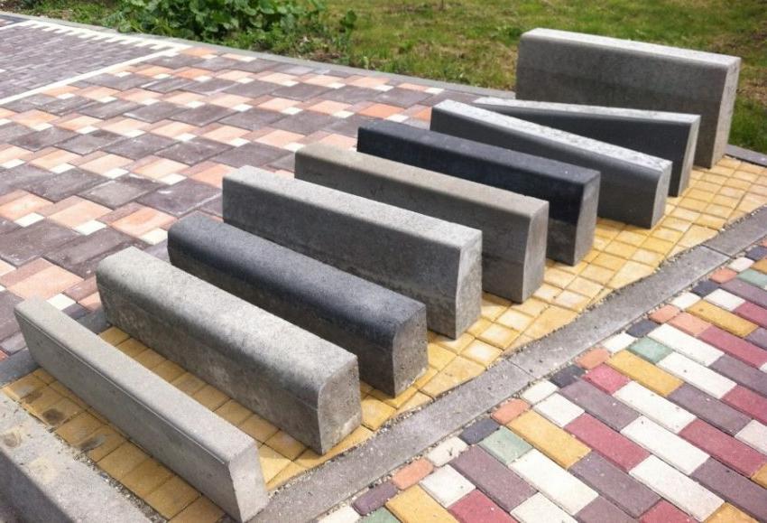 виды бордюра для тротуарной плитки