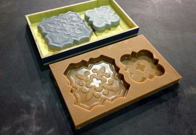 заводская форма для производства тротуарной плитки