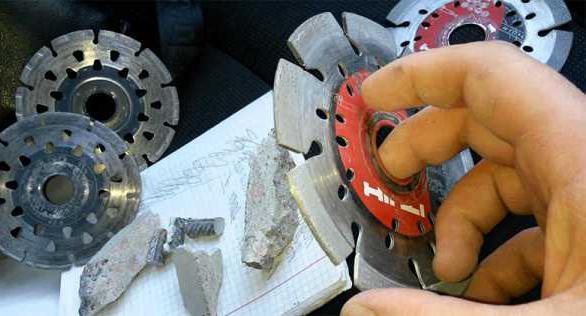 алмазный диск по бетону для болгарки