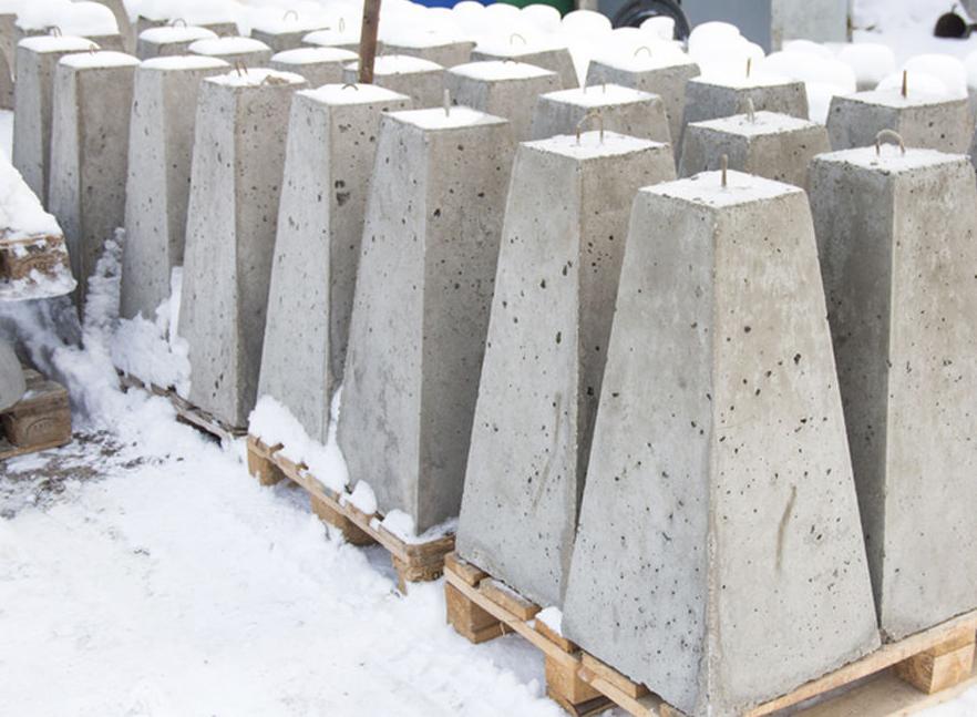 бетонные ограждения для парковки