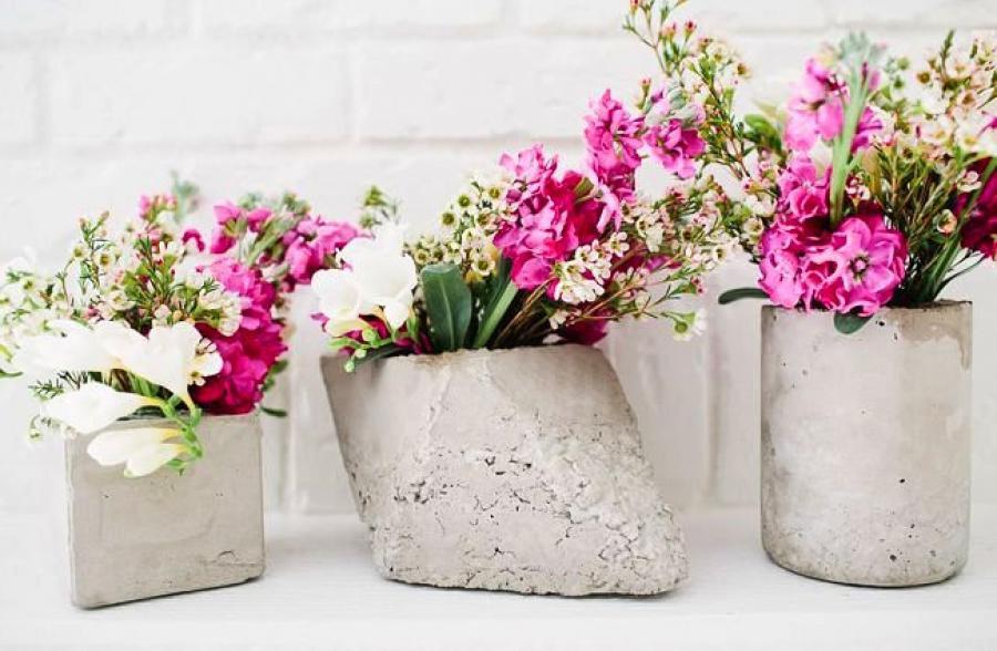 бетонные вазы своими руками