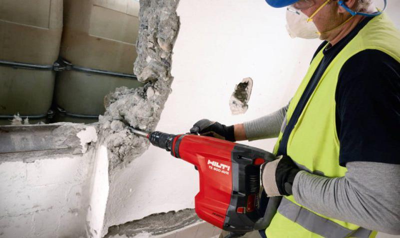 демонтаж бетона своими руками