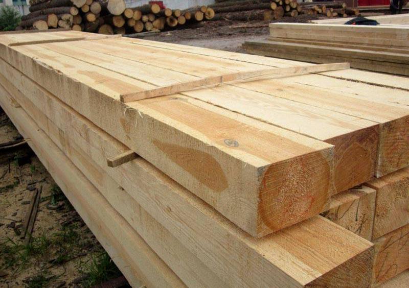 деревянные балки для перекрытий