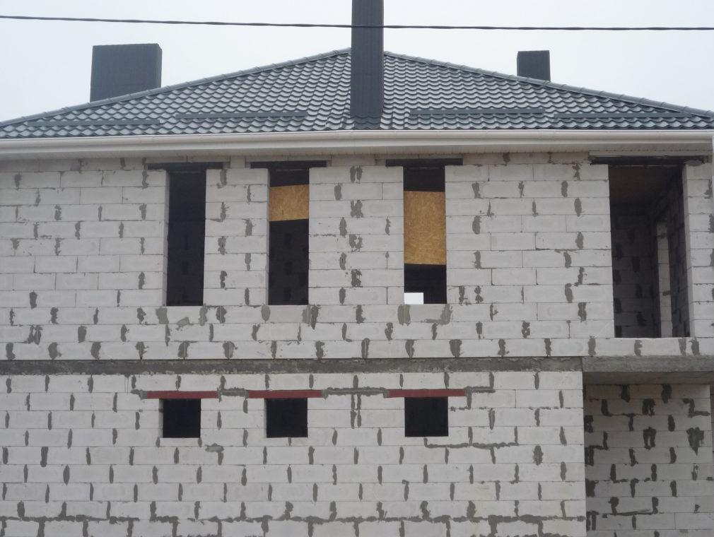 дом из газобетона и система вентиляции