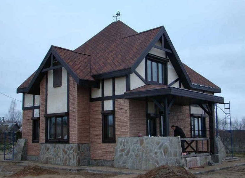 готовый дом из арболита