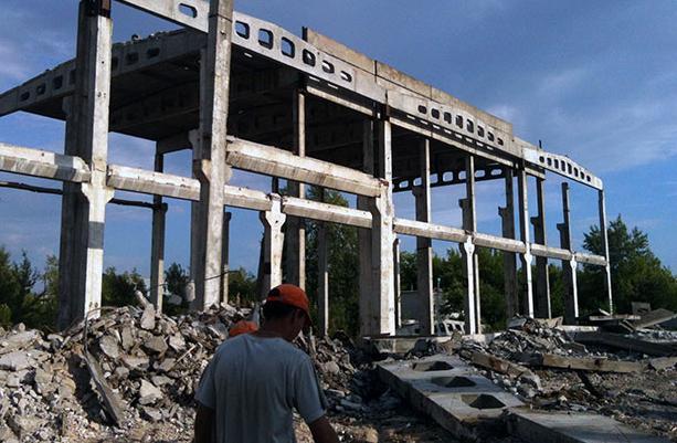 как демонтировать бетонные конструкции