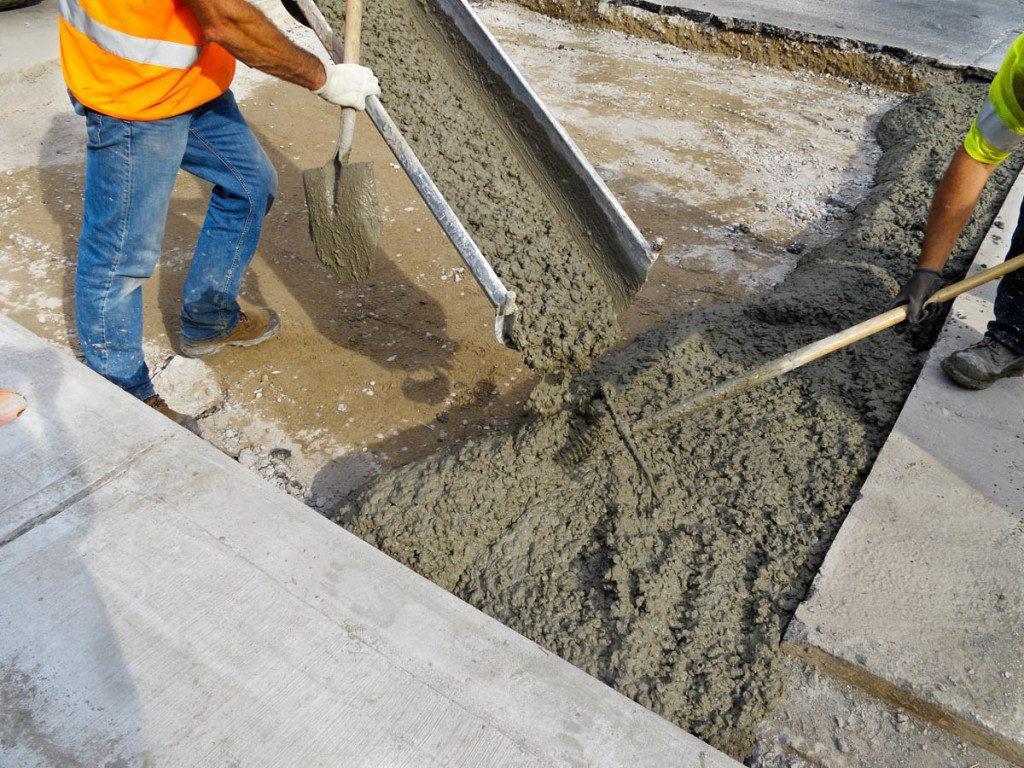 как и сколько твердеет бетонная смесь