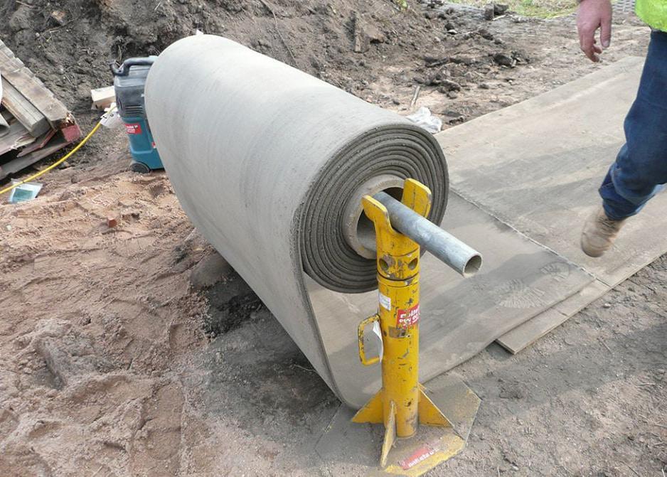 как правильно работать с бетонным полотном