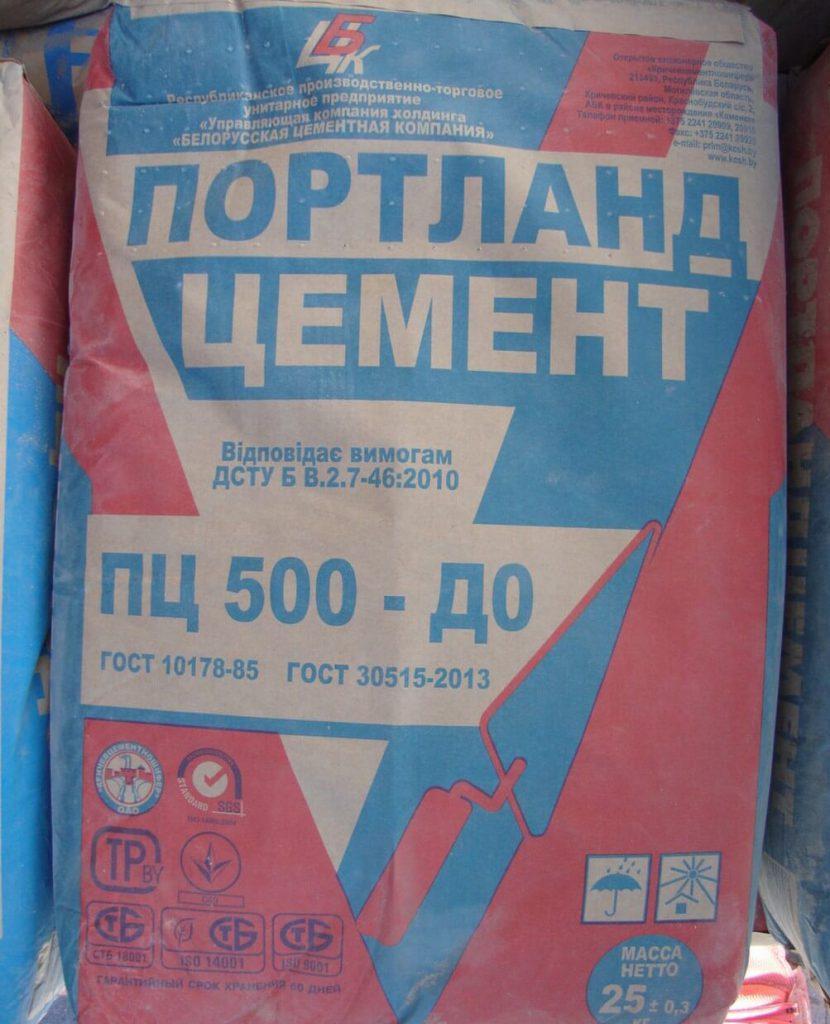 какой цемент нужно брать для опилкобетона