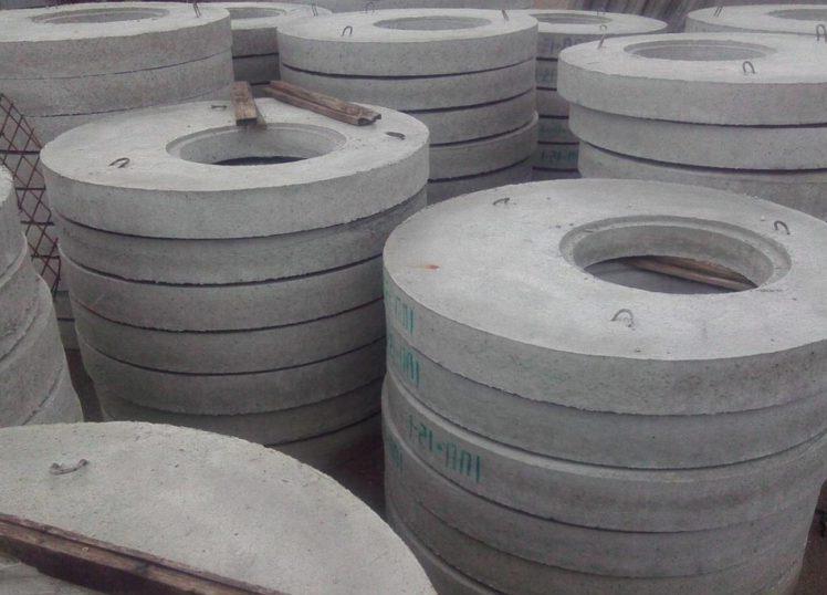 колодезные крышки из бетона