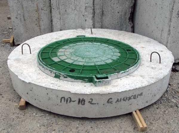 маркировка крышек для колодцев жби