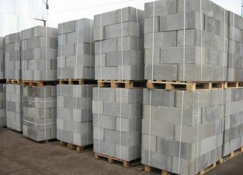 масса газобетонных блоков