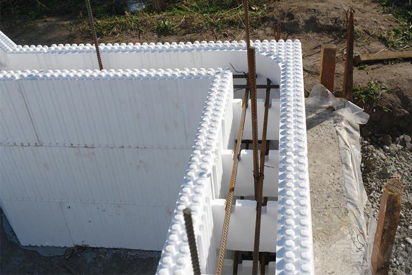 несъемная опалубка для бетонного дома