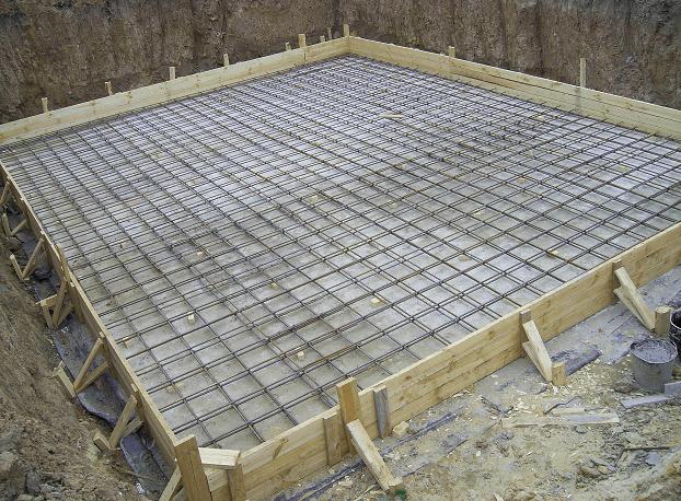 подсчет веса бетона перед заливкой