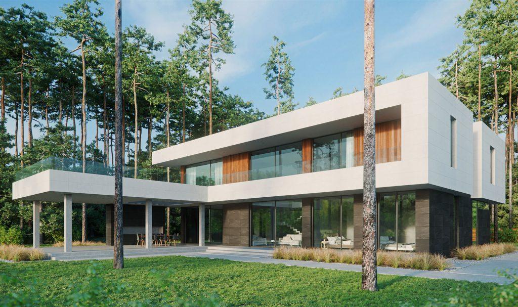 преимущества дома из бетона