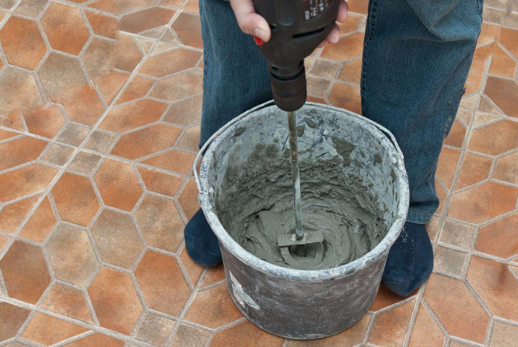 приготовление цементно-песчаной смеси