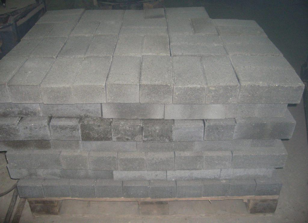 применение бетонного кирпича