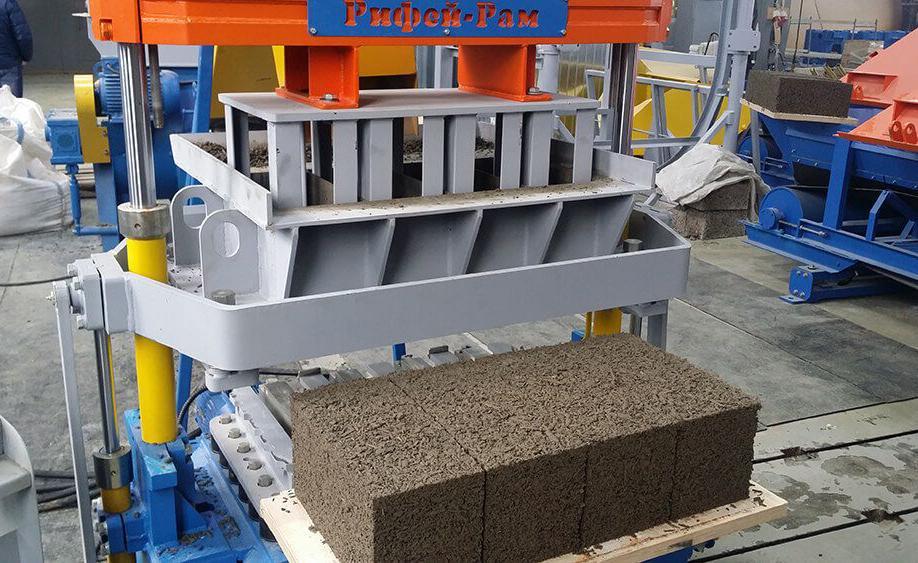 производство блоков из арболита