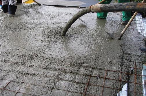 промышленное применение бетона М700