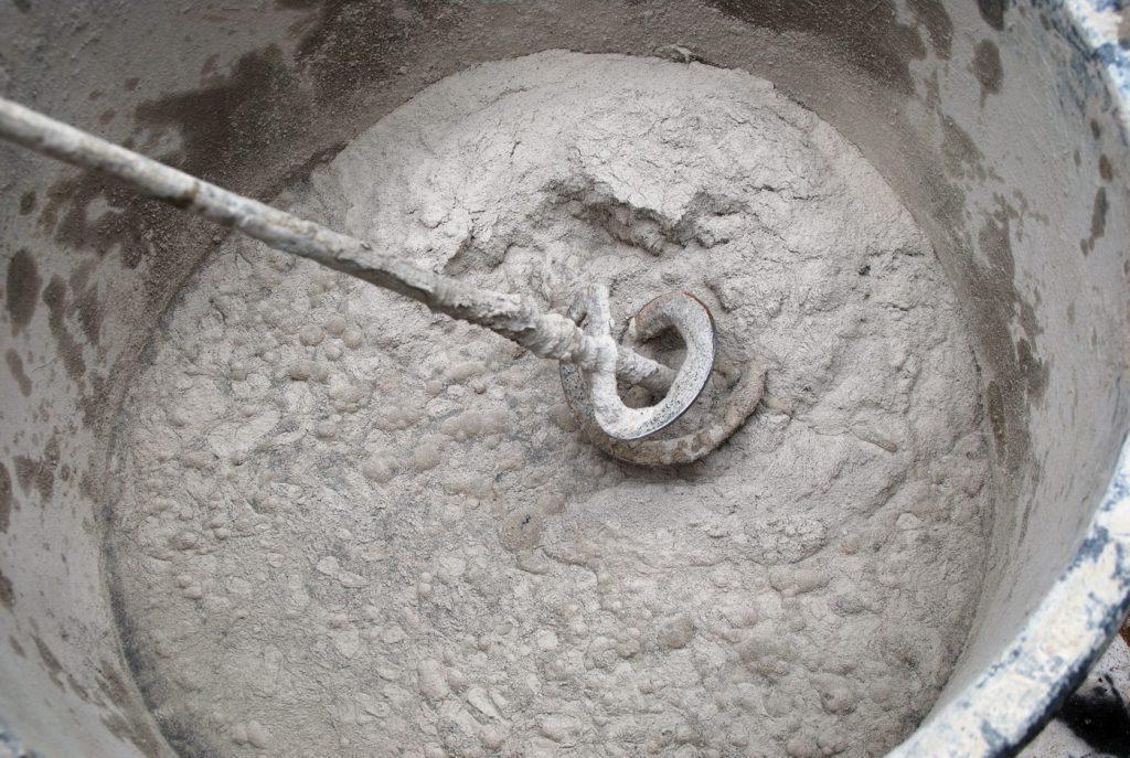 самостоятельное приготовление пескоцементной смеси