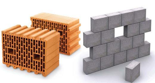 сравнение керамических блоков и газобетона