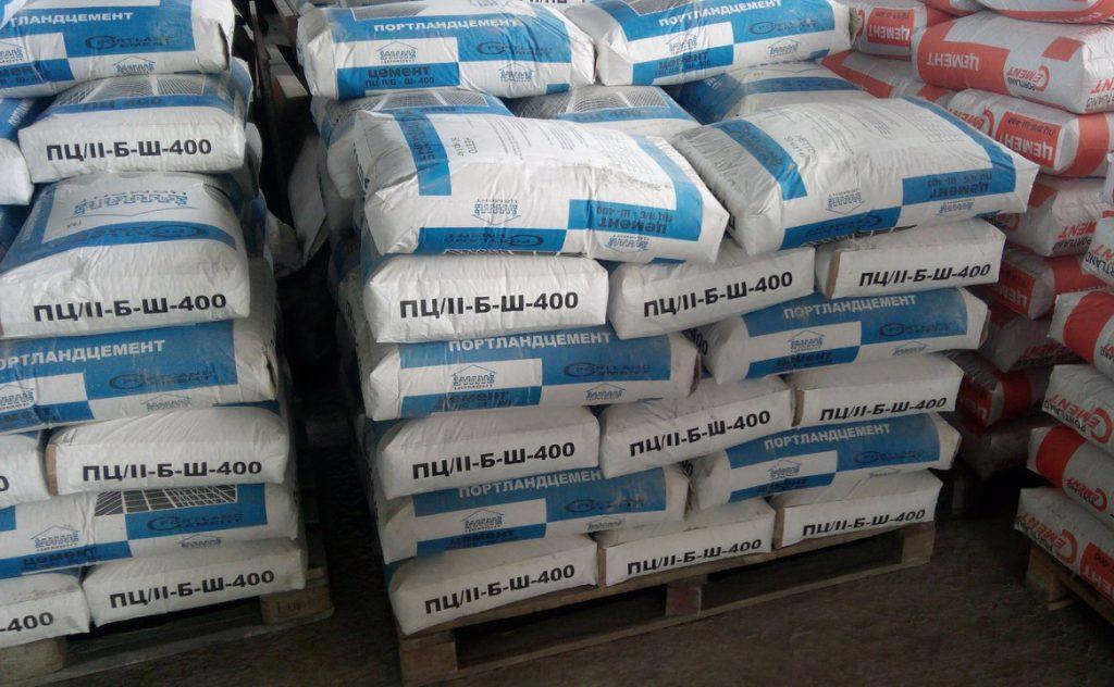 цемент для приготовления смеси