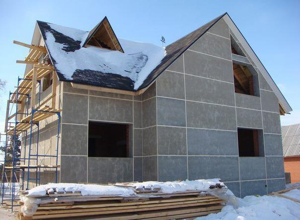 цементно-стружечные плиты в строительстве домов