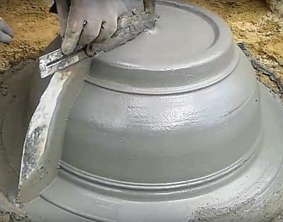 Создание вазы без формы своими руками